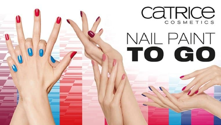 Lack auf Nägeln - Catrice Limited Edition Nail Paint To Go