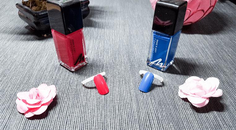 Die Farben 310 und 850 von Manhattan aus der Last & Shine Kollektion