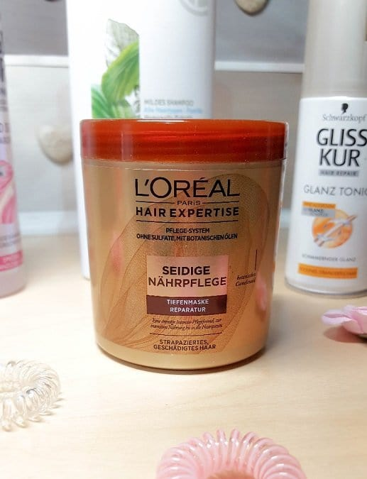 Seidige Nährpflege Tiefenmaske Reparatur von L'Oréal