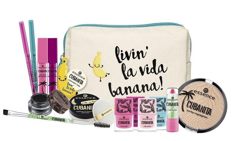 verschiedene Produkte der limited Edition von essence cubanita