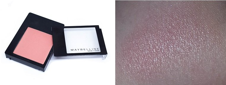 Maybelline New York Master Blush Rouge Pink Amber 40 mit Swatch