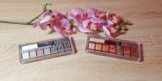 The Precious Copper Collection & The Modern Matt Collection Catrice Lidschatten Paletten