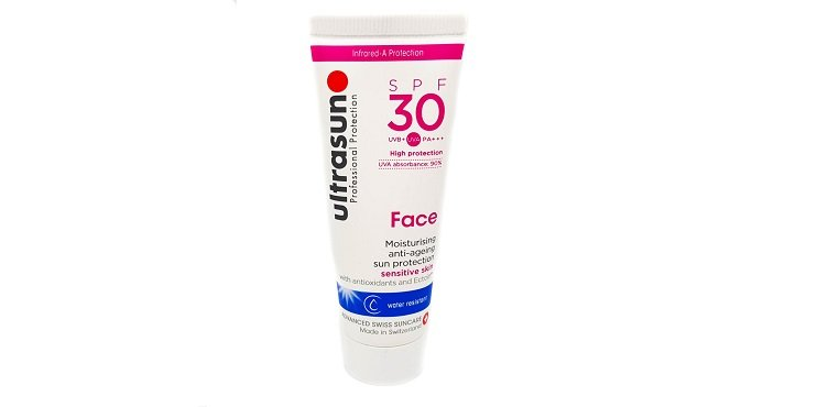 Ultrasun Face Moisturising anti-ageing sun protection sensitive skin