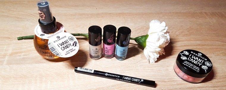 essence verschiedene Produkte limited Edition I want Candy