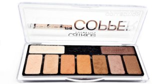 the Precious Copper Collection Catrice Lidschatten Palette