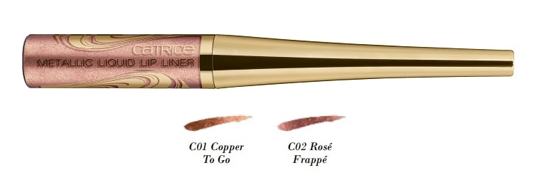 Catrice Blessing Browns Metallic Liquid Lip Liner 2 Farben
