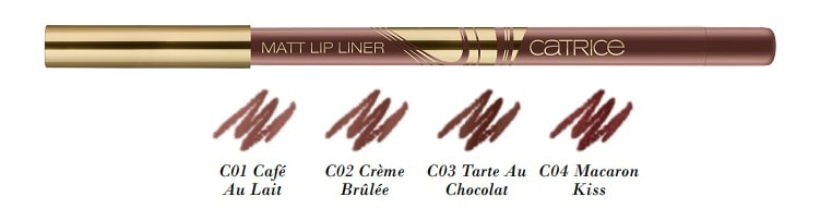 Catrice Blessing Browns Matt Lip Liner