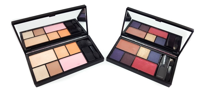 Eye & Cheek Palette Sleek See You Midnight + All Day Soiree offen