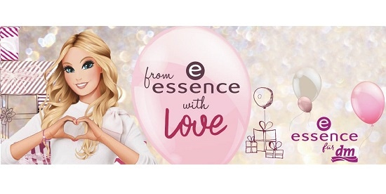 Header from essence with love essence trend edition
