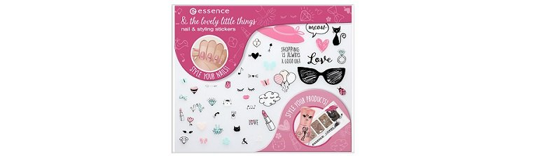 essence And The Lovely Little Things Nail & Styling Stickers