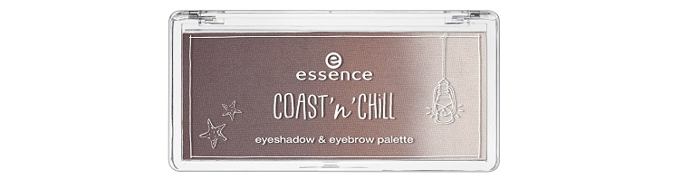 essence coast 'n' chill eyeshadow & eyebrow palette
