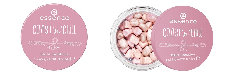 essence coast 'n' chill blush pebbles