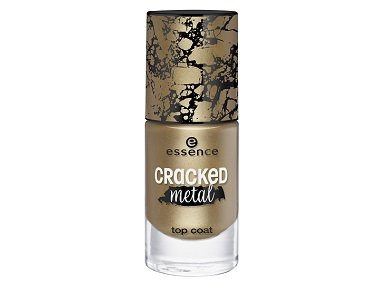 essence cracked metal top coat