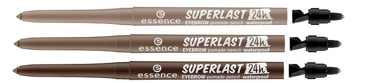 essence superlast 24h eyebrow pomade pencil waterproof 10 20 30
