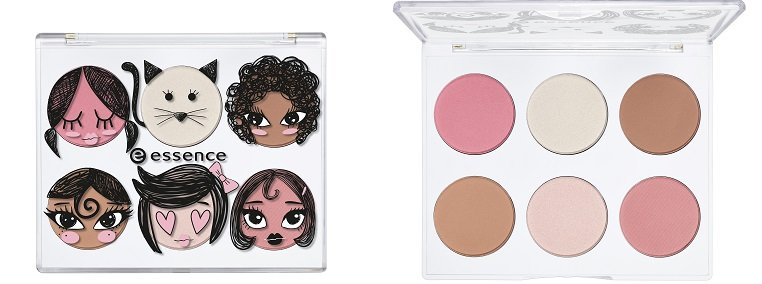 essence limited Edition And The Lovely Little Things Face Palette offen und geschlossen