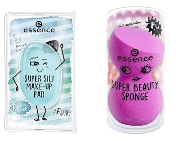 essence super sili make-up pad & super beauty sponge