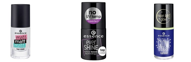 essence top coat matt matt matt & top coat ever shine & top coat glow in the dark