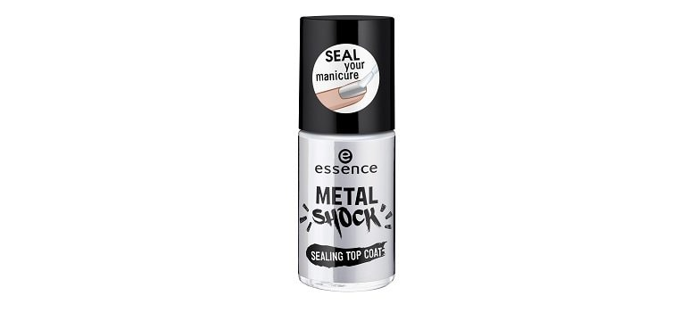 essence metal shock sealing top coat limited Edition awesoMETALLICS