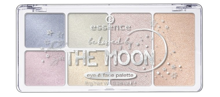 essence be kissed by the moon eye & face palette 03 limited Edition awesoMETALLICS