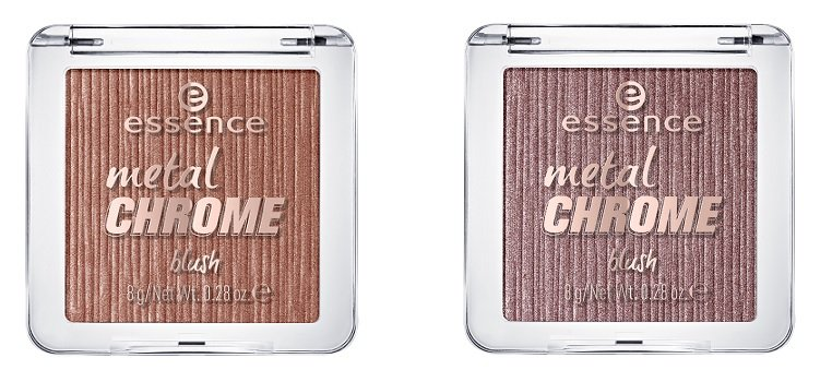 metal chrome blush zwei Farben 20 & 30 essence limited Edition awesoMETALLICS