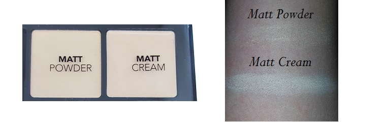 Professional Make Up Techniques Palette Catrice Matt Powder & Cream mit Swatches