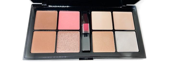 Professional Make Up Techniques Palette Catrice offen verschiedene Farben