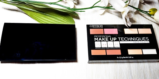 Professional Make Up Techniques Palette Catrice
