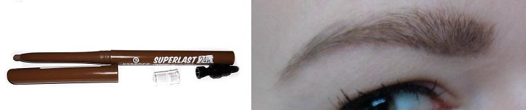 essence superlast 24h eyebrow pomade pencil waterproof mit Swatch