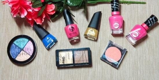 Kosmetik4Less Haul verschiedene Nagellacke Titelbild