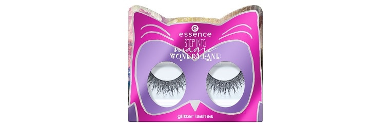 essence LE step into magic wonderland glitter lashes