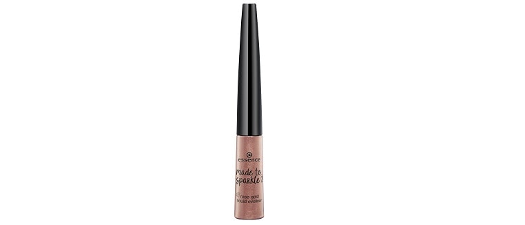 essence limited Edition made to sparkle Rosé Gold Liquid Eyeliner