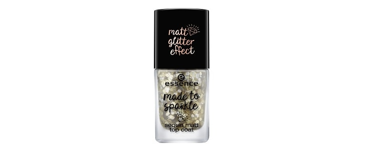 essence limited Edition made to sparkle sequin matt top coat