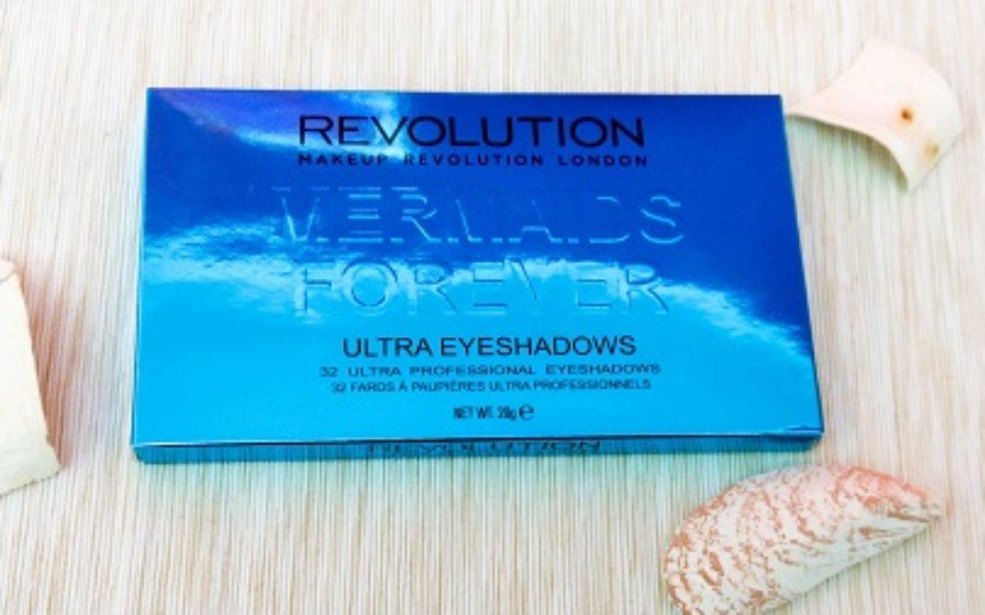 Makeup Revolution Mermaid Forever Lidschatten-Palette