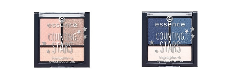 essence limited Edition Counting Stars Hightlighter And Eyeshadow Trio 01 02