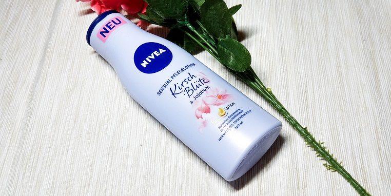 NIVEA Pflegelotion Kirsch Blüte & Jojobaöl