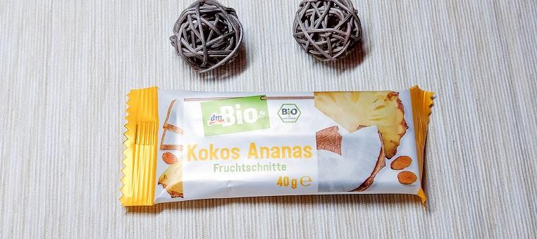 dmBio Kokos Ananas Fruchtschnitte
