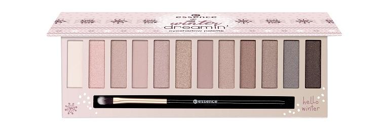 essence winter dreamin' eyeshadow palette