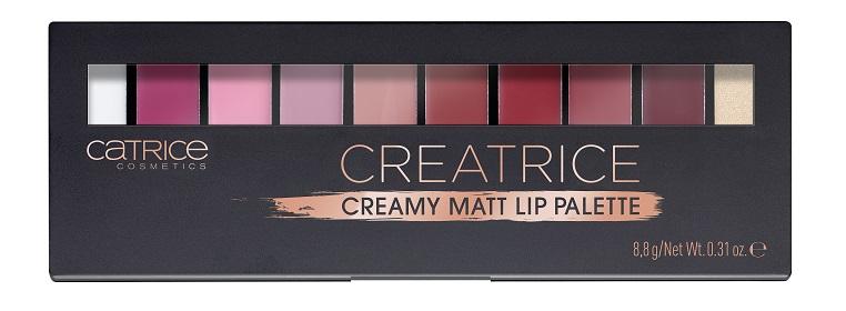 Catrice Creatrice Creamy Matt Lip Palette