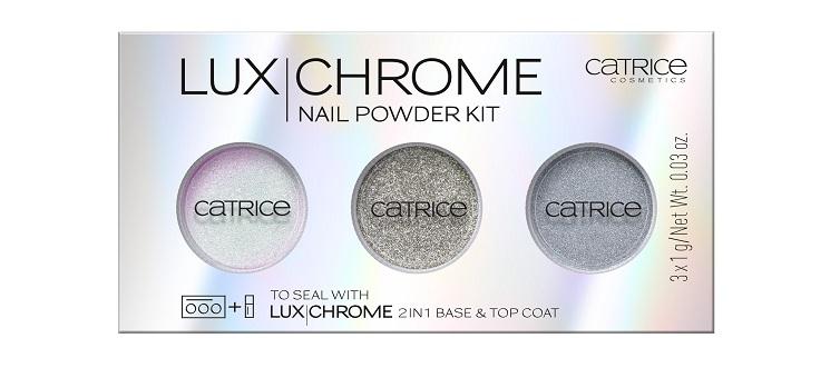 Catrice LuxChrome Nail Powder Kit 01