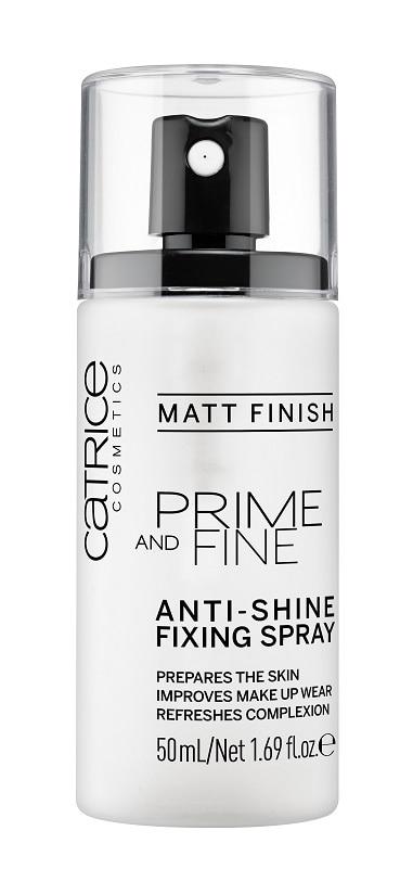 Catrice Prime and Fine Anti Shine Fixing Spray