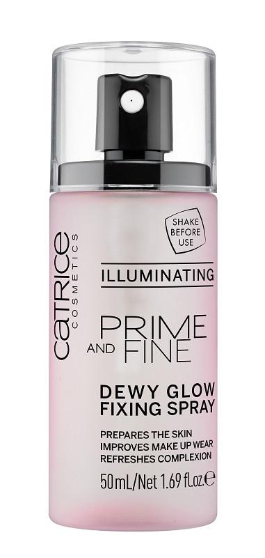 Catrice Prime and Fine Dewy Glow Fixing Spray
