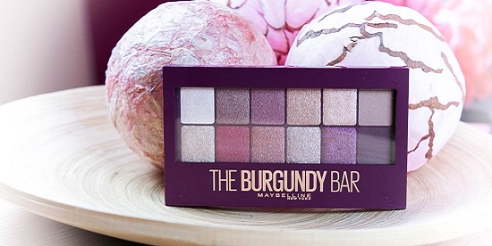 Maybelline the Burgundy Bar Lidschatten Palette als Titelbild
