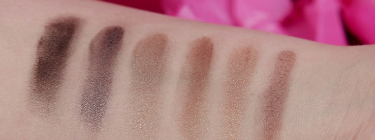 essence limited Edition winter dreamin' Lidschatten Palette Swatches Arm zweiter Teil