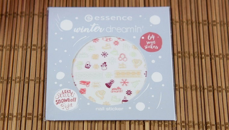 essence limited Edition winter dreamin nail sticker