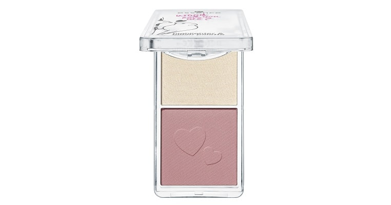 essence wood you love me? highlighter & blush palette