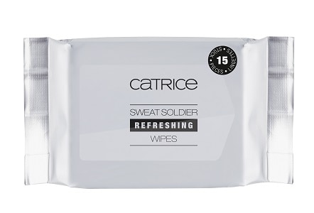 Catrice Active Warrior Sweat Soldier Refreshing Wipes