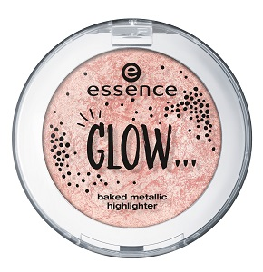 essence baked metallic highlighter 03