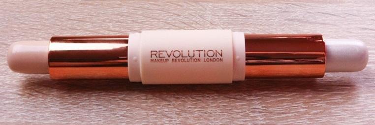 Makeup Revolution - Makeup Set - Crème Highlight and Contour Kit - Fair - Highlighterfarben