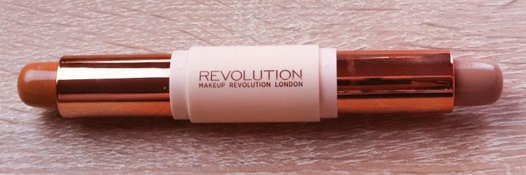 Makeup Revolution - Makeup Set - Crème Highlight and Contour Kit - Fair - Konturfarben