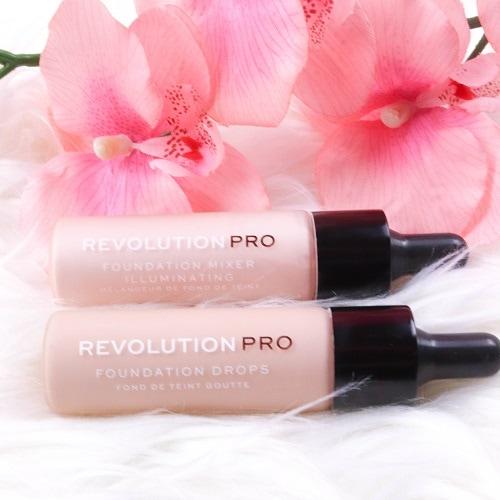 Revolution Pro - Foundation - Foundation Drops - F3 & Foundation Mixer - Illuminating